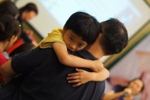 Moon Chong and his son Matthew
